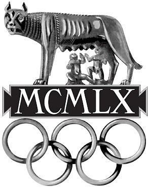 Logo Olimpiady Rzym 1960, © Comité International Olympique, Château de Vidy 1007, Lausanne