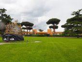 Dziedziniec Cinecitta, Rzym