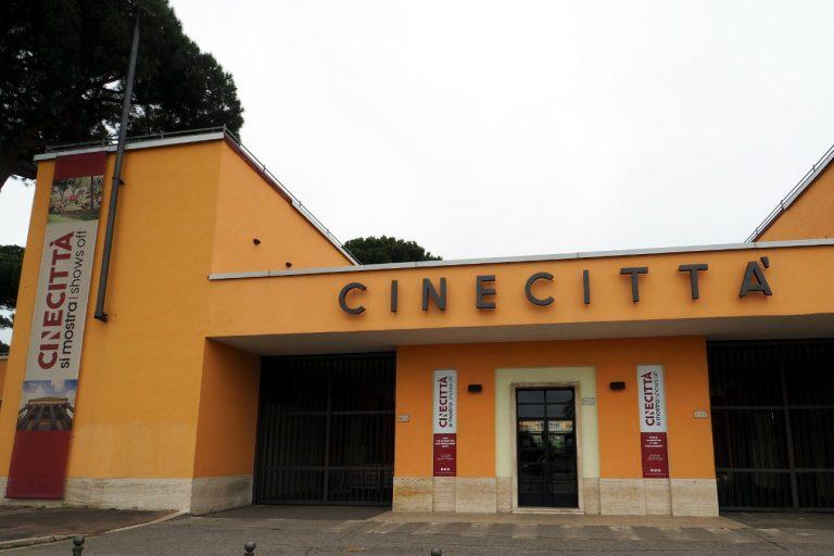 Wejście do Cinecitta w Rzymie