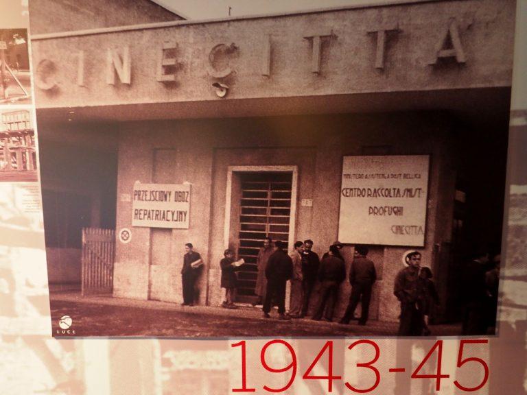 Obóz repatriacyjny w Cinecitta