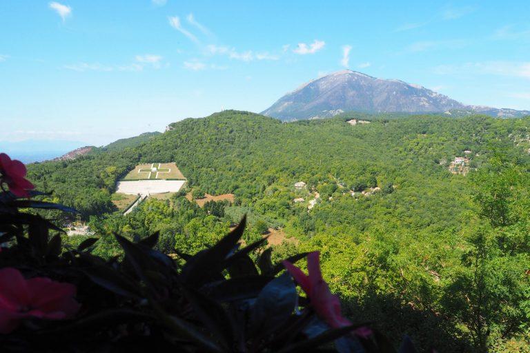 Monte Cassino - widok z klasztoru